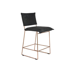 Norman barstool copper without arms | Sgabelli bancone | Jess