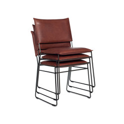 Norman Old Glory without arms stackable | Chairs | Jess