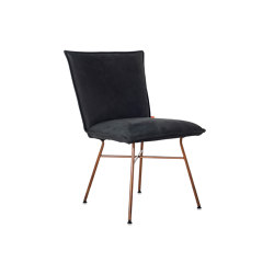 Sanne copper without arms | Chaises | Jess