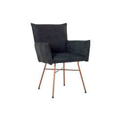Sanne copper with arms | Chaises | Jess