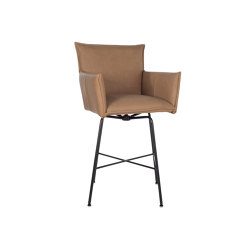 Sanne barstool Old Glory with arms and swivel | Tabourets de bar | Jess