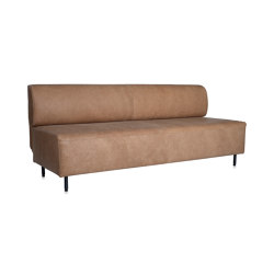 Tray 2,5 seats sofa without arms | Sofas | Jess