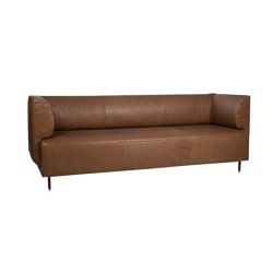 Tray 2,5 seats sofa with 2 low arms | Sofas | Jess
