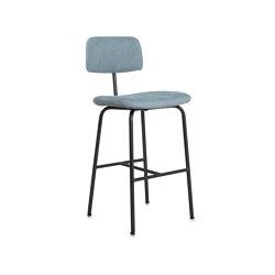 Zipp barstool Old Glory with back | Bar stools | Jess