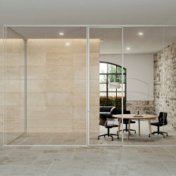 A65 demountable wall | Wall partition systems | ALEA