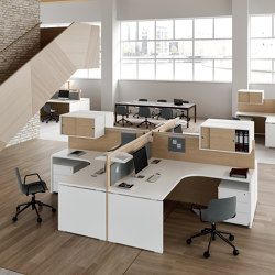 Atlante workstation | Desks | ALEA