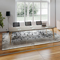 Blade meeting table | Contract tables | ALEA