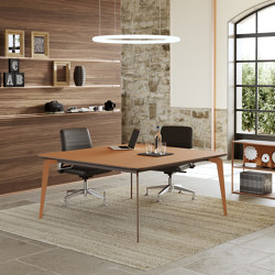 Blade X meeting table | Tables collectivités | ALEA