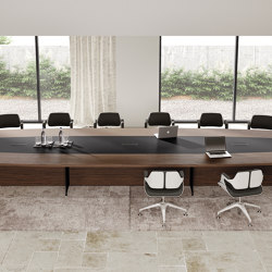 Oasi meeting table | Tables collectivités | ALEA