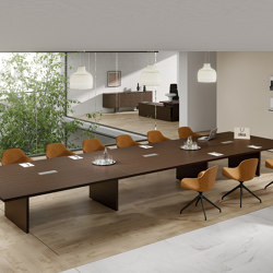 Odeon meeting table | Mesas contract | ALEA