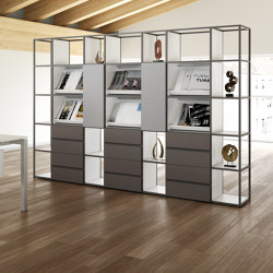 Q18 bookcase | Shelving | ALEA