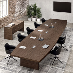 Titano meeting table | Mesas contract | ALEA