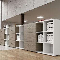 Titano bookcase | Estantería | ALEA