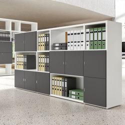 Titano bookcase   Shelving   ALEA