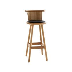 Milo MLP75TKFR-h75-oak | Bar stools | Karl Andersson & Söner