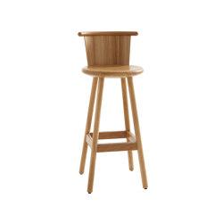 Milo MLP75TTFR-h75-oak | Bar stools | Karl Andersson & Söner