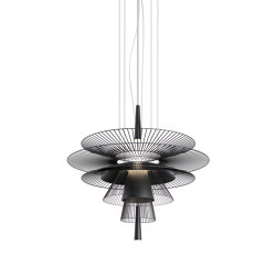Gravity | Pendant Lamp | 1 Black | Suspended lights | Forestier