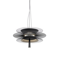 Gravity | Pendant Lamp | 2 Black | Suspended lights | Forestier