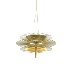 Gravity | Pendant Lamp | 2 Champagne | Suspended lights | Forestier