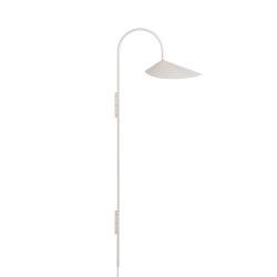 Arum Tall Wall Lamp - Beige   Wandleuchten   ferm LIVING