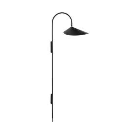Arum Tall Wall Lamp - Black | Wall lights | ferm LIVING