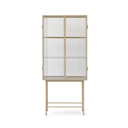 Haze Vitrine - Cashmere | Display cabinets | ferm LIVING