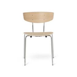 Herman Chair - Natural Oak & Chrome   Chairs   ferm LIVING