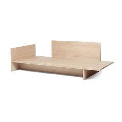 Kona Bed - Natural Oak Veneer | Camas | ferm LIVING