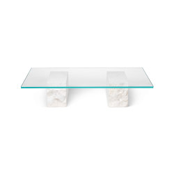 Mineral Coffee Table - Glass Top | Coffee tables | ferm LIVING