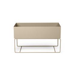 Plant Box - Large/Low - Cashmere | Storage boxes | ferm LIVING
