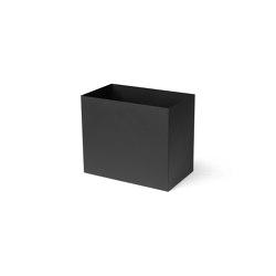 Plant Box Pot - Large - Black   Storage boxes   ferm LIVING