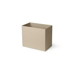 Plant Box Pot - Large - Cashmere | Storage boxes | ferm LIVING