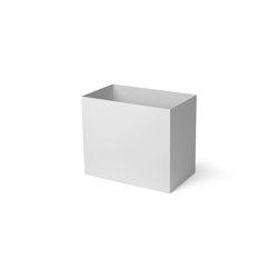 Plant Box Pot - Large - Light Grey   Storage boxes   ferm LIVING