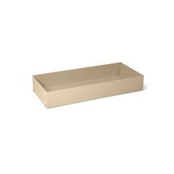Punctual Shelving System - Shelf Box - Cashmere | Estantería | ferm LIVING