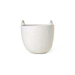 Speckle Pot - Large - Off-White | Storage boxes | ferm LIVING