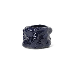 Tuck Pot - Blue | Floreros | ferm LIVING