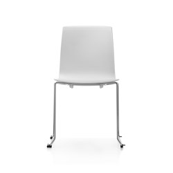 Fiore MicroSilver skid base | Chairs | Dauphin