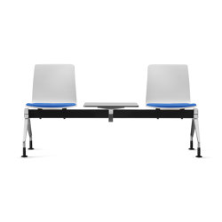 Fiore MicroSilver bench system | Benches | Dauphin