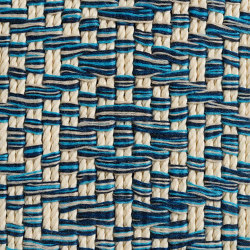 Diamond | Blue | Rugs | Naturtex