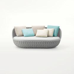 Orbitry | Two-seater sofa | Sofas | Paola Lenti