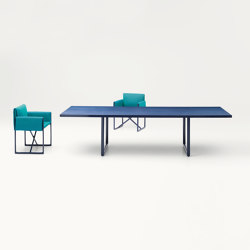 Portofino Indoor | Tables de repas | Paola Lenti