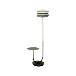 CALYPSO FL+TABLE ANTIGUA OUTDOOR | Free-standing lights | Contardi Lighting