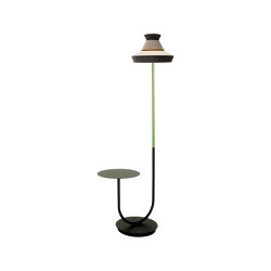 CALYPSO FL+TABLE GUADALUPE OUTDOOR | Free-standing lights | Contardi Lighting