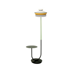 CALYPSO FL+TABLE MARTINIQUE OUTDOOR | Free-standing lights | Contardi Lighting