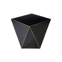 Facet side table | Mesas auxiliares | Lambert