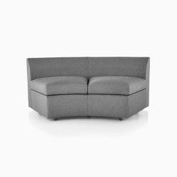 Bevel Curved Settee | Sofas | Herman Miller