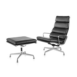 Eames Soft Pad Lounge Chair and Ottoman | Armchairs | Herman Miller
