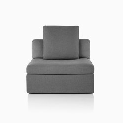 Module Lounge Seating Single Seat | Armchairs | Herman Miller