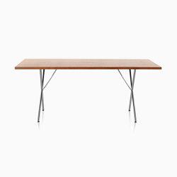 Nelson X-Leg Table | Dining tables | Herman Miller