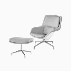 Striad Lounge Chair and Ottoman | Armchairs | Herman Miller